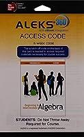 Aleks 360 Access Card (11 Weeks) for Beginning and Intermediate Algebra