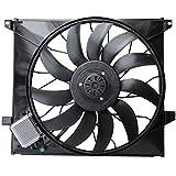 TOPAZ Ventilador de motor ML 270 CDI W163 1635000393