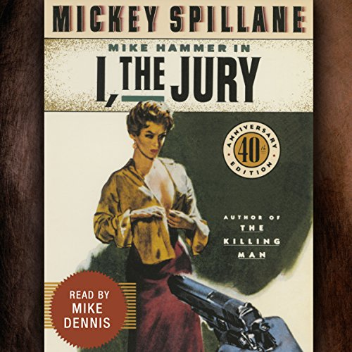 I, the Jury audiobook cover art