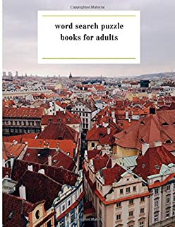word search puzzle books for adults: This book is   crossword puzzle books for adults big print tolarge print word search