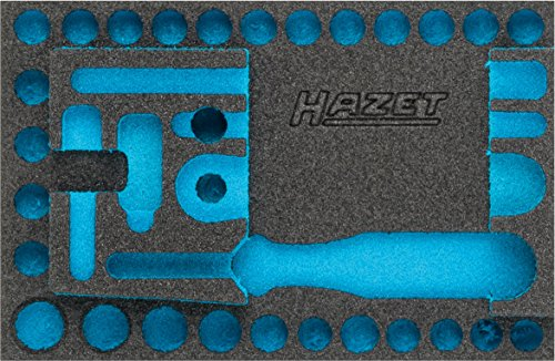 HAZET Weichschaum-Einlage (für HAZET Steckschlüssel-Satz 854-1) 163-338L