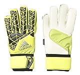 adidas Ace FingerSave Replique Goalkeeper Gloves (7, Solar Yellow/Black)