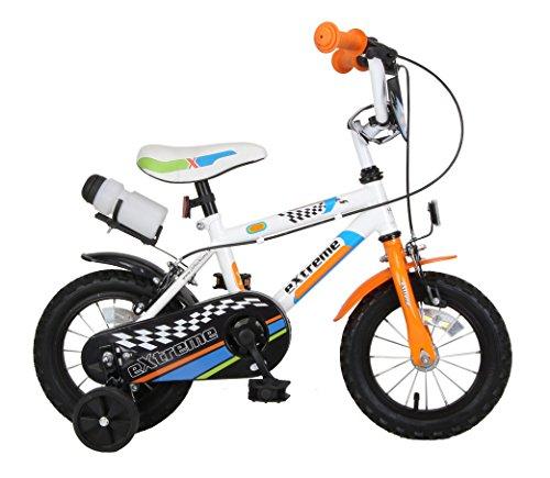 F.lli Schiano Extreme, Bicicletta Bambino, Bianco/Arancio, XL