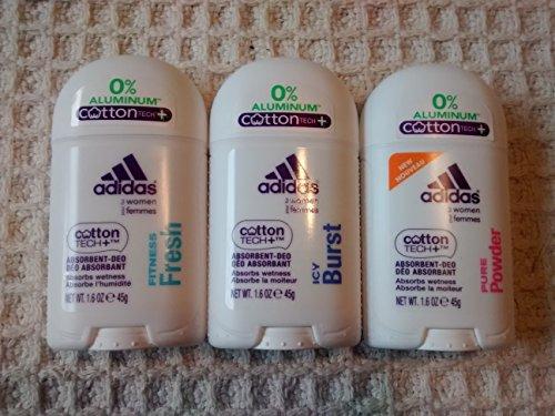 Adidas Aluminum Free Multi Pack Deodorants- 3 Pack