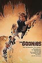 Goonies Movie Poster, US Version, Size 24x36