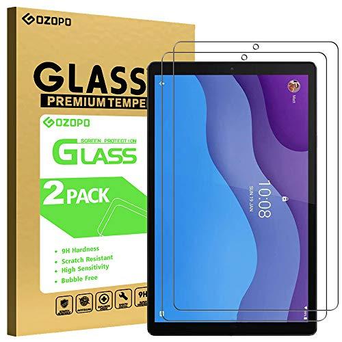 GOZOPO Pellicola Protettiva per Lenovo Tab M10 HD 2a Gen TB-X306X - Film in Vetro Temperato, Premium 2.5D Bordo [2-Pack]