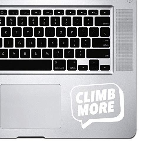 Dkisee Laptop Aufkleber fur MacBook Pro Chromebook und Laptops Vinyl Aufkleber PVC weis 8 inch