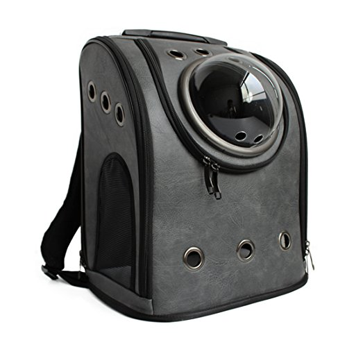 Haustier Rucksack, iTECHOR Transportrucksack Tragetasche Tragbarer Rucksack für Haustier Hunde Katzen