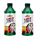 Turtle Wax T-280RA Chrome Polish & Rust Remover - 12 oz. - 2 Pack