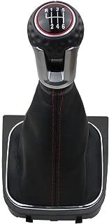 6 Speed Shift Knob Boot Kit for Volkswagen VW Golf 5 6 MK5 MK6 GTI GTD R32 R20 2004-2013