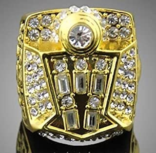 AJZYX 1998 Year Bulls Championship Replica Ring Souvenir Gift Without Display Box Size 11