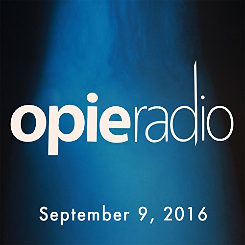 Opie and Jimmy, Jim Jefferies, Pete Davidson, Colin Jost, September 9, 2016 audiobook cover art
