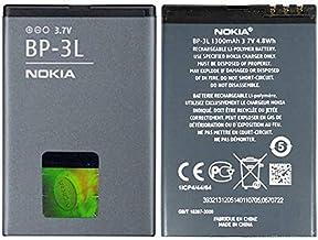 The Black Store Orignal BP3L Battery for Nokia Lumia 510 710 603 Asha 303 (1300mAh)