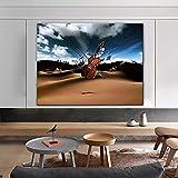 Impresión de Lienzo Sala de póster de Instrumentos Musicales y Pintura Mural de la casa del Artista Decorative Frame Fashion