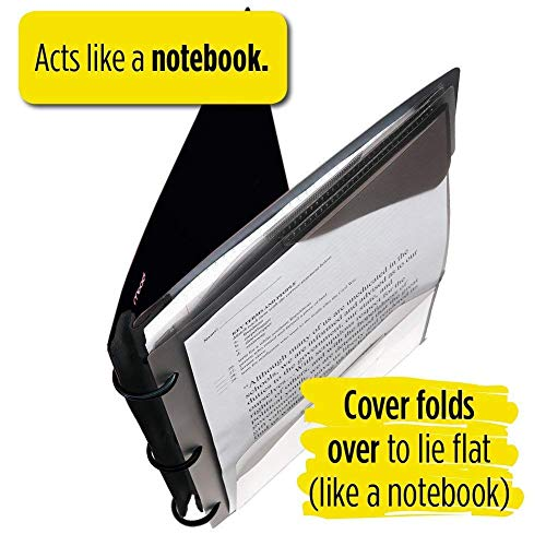 Five Star Flex Hybrid Notebinder, 1-1/2 Inch Binder, Notebook and Binder All-in-One, Color Selected For You (29146) Photo #7