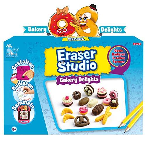 Beluga Spielwaren GmbH 50706 Eraser Bäckerei Radiergummi selber Machen Radierer Spielzeug, Mehrfarbig