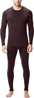 Men's Thermal Underwear Long John Set Fleece Lined Base Layer Top and Bottom M11