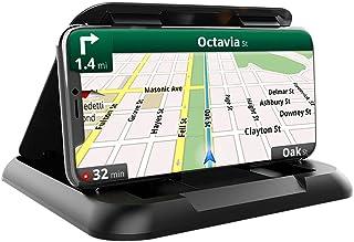 Support de téléphone portable pour voiture - Édition premium - Robuste et antidérapant - Durable - Compatible avec tous le...