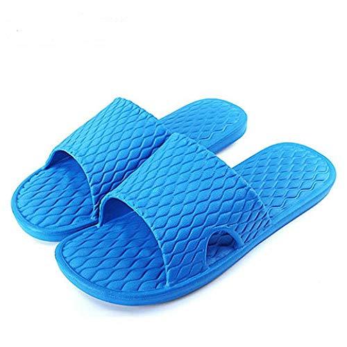 LINGZIA Sandalias de Playa para Hombre, Zapatillas de Verano de Fondo Suave para el hogar Zapatillas de casa Chanclas Zapatillas Zapatillas Casuales para Hombre Zapatillas de baño para Interiores