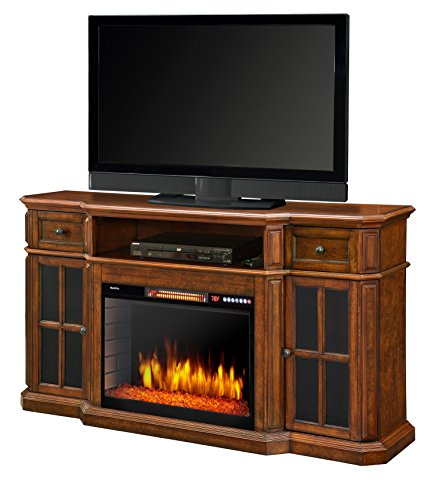 "Muskoka 259-18-48 Sinclair 60"" Media Fireplace with LED Lights and Bluetooth"