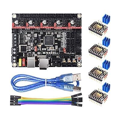 BIQU DIRECT 3D Printer Part SKR V1.4 32bit Control Board Smoothieboard&Marlin Open Source SKR V1.3 Upgrade Support TMC2209/TMC2208/TMC2130/A4988/8825/ Drivers (SKR V1.4 with TMC2209)