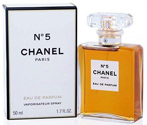 chanel Chã ¢ Nel No.5 Eau de Parfum Spray für Frauen, Edp 50 Ml 1,7 Unzen