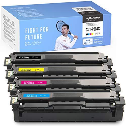 myCartridge SUPRINT Toner compatibile per Samsung CLT-P504C P504C CLT-K504S, ricambio per Samsung CLX-4195 4195N 4195FN 4195FW CLP-415 415N 415NW 470 475 4170 Xpress SL-C1810W SL-C1860FW