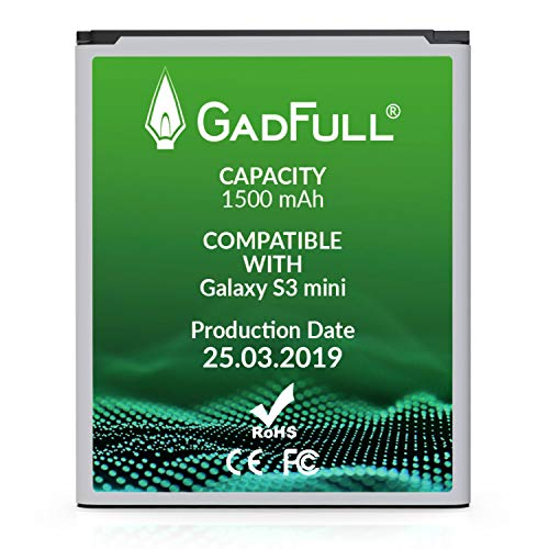 GadFull Batería de reemplazo para Samsung Galaxy S3 Mini | 2019 Fecha de...