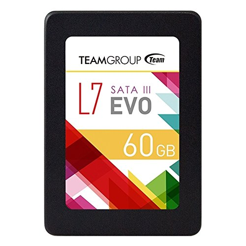 TEAMGROUP T253L7060GTC101 Solid State Drives 60GB L7 Evo Sata3, 7mm