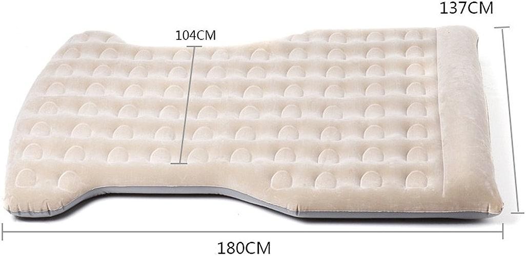 Voiture lit gonflable voiture air lit matelas gonflable en plein air wagon siège arrière camping long pad sommeil