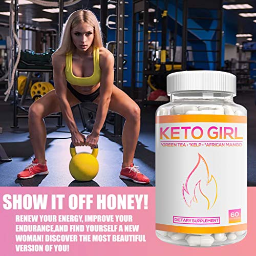 Keto Girl Diet Capsules – 1200 mg Keto Boost Pills for Women, Shark Tank Formula 10X Advanced Weight Loss w/Green Tea, Apple Cider Vinegar, Kelp to Burn Fat, Boost Energy, Enhance Focus 60 Cap 2