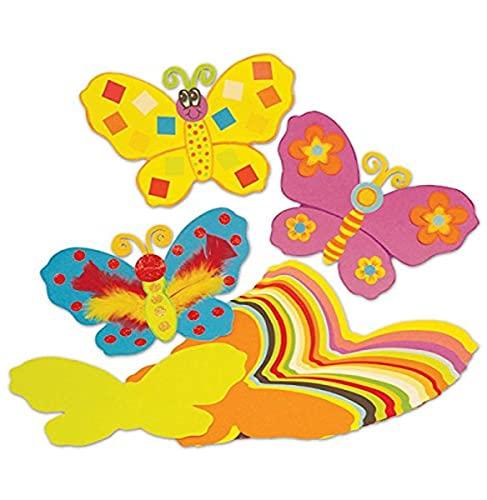 Springboard 10313 Jumbo-Papier-Schmetterlinge, vorgeschnitten, 100 Stück