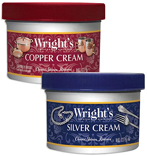 Wright's Silver and Copper Cream Cleaner and Polish