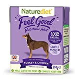 Naturediet Comida Húmeda Completa De Pollo Y Pavo Feel Good 390 G X 18 -...