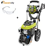 Ryobi 3,200 Psi 2.5 Gpm Electric Start Gas Pressure Washer RY803111...