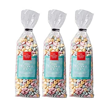 Hickory Farms Mini Meltaway Mints Pack of 3 10 ounces each |Smooth and Creamy with Nonpareils Great for Holiday Gifting