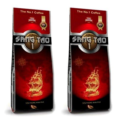 ベトナムコーヒー SANGTAO-1 DRIP用淡口コーヒー徳用サイズ340g入り 2袋セット TRUNG NGUYEN製