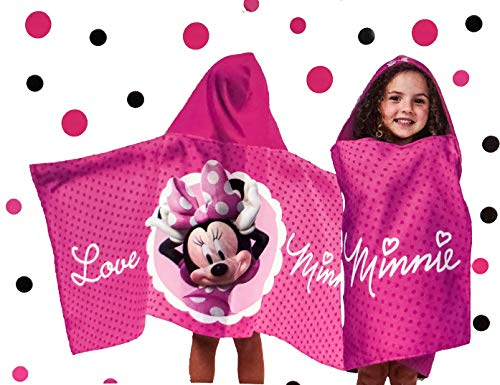 Jay Franco Hooded Poncho (Minnie Mouse Classic #2)