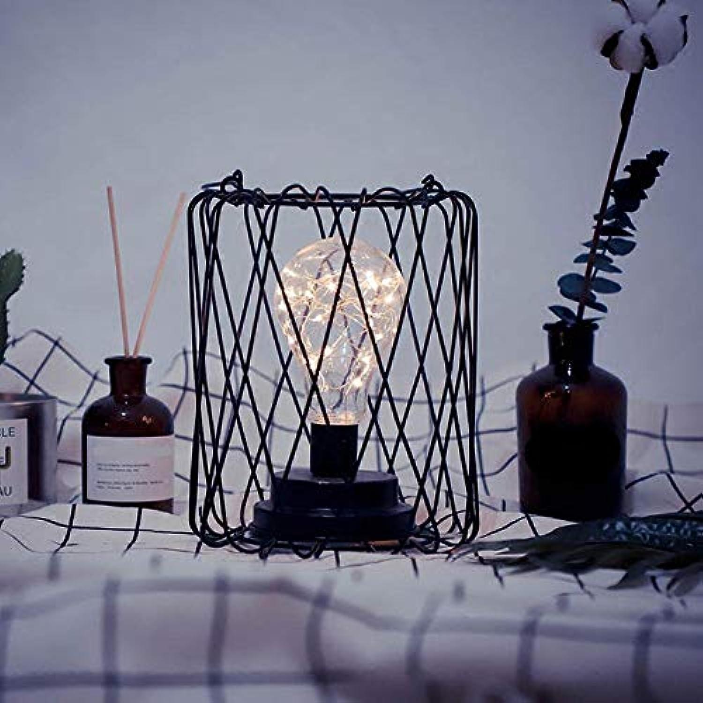 XFZ Shining, Minimalistisch, Handgefertigt, LED-Schreibtischlampe aus Eisen, LED-Nachtlicht mit ausgehhlten Design, Leuchtenkrper aus Eisen für Schlafzimmer, Dekoration, Geschenk zum Valentinstag, F