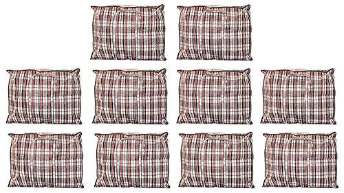 Extra großer Wäschesack zur Aufbewahrung, für Umzüge, wasserdicht mit ReißverschlüssenXXL 80x 60cm x 30cm, 60*50*25