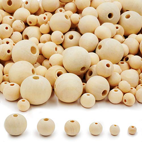 500 Pieces Wooden Beads
