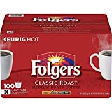 Folgers K Cups Classic Roast Coffee 1 Pack (100 K-Cups)