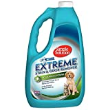 Simple Solution Extreme Pet Stain and Odor Remover | Enzymatic Cleaner with 3X Pro-Bacteria Cleaning Power | Spring Breeze, 1 Gallon