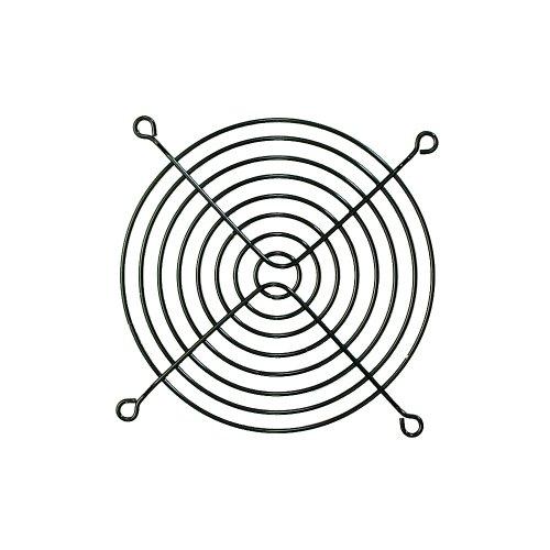 オウルテック 金属製ファンガード 12cm ブラック FANGuard-M12(B)/II