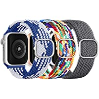 Braided Solo Loop Band for Apple Watch (38/40/41/42/44/45mm) (various)