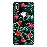 Wephone Accesorios Funda Dibujo Flores WP029 para Bq Aquaris X5 Plus