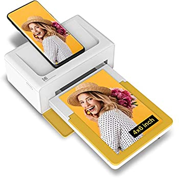 """Kodak Dock Plus 4x6"""" Portable Instant Photo Printer  2021 Edition  Compatible with iOS Android and Bluetooth Devices Full Color Real Photo 4Pass & Lamination Process Premium Quality - Convenient"""