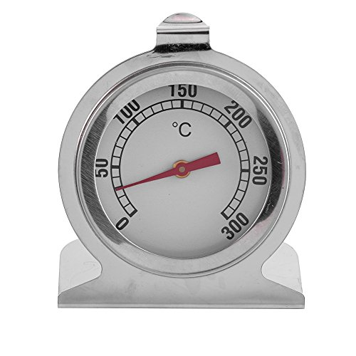 Oven Thermometer - 1 Pc RVS Oven Thermometer Keuken Bakken Temperatuur Meetgereedschap Hot