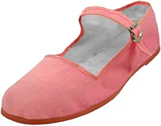303594b0d7d3 Easy USA Women s Cotton Mary Jane Shoes Ballerina Ballet Flats Shoes