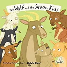 The Wolf and the سبعة للأطفال (flip-up Fairy Tales)